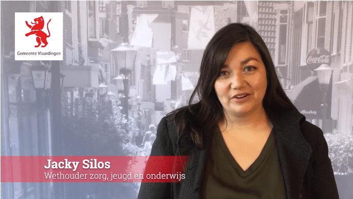 Wethouder Jacky Silos spreekt alle ouders in Vlaardingen toe