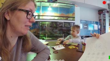 Vlog van Martine: Thuis lesgeven