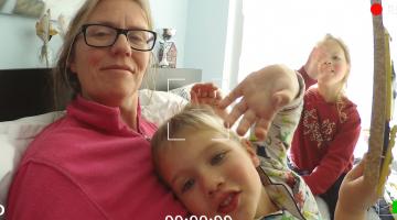 Vlog van Martine: Ziek