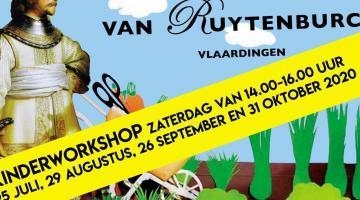Kinderworkshops bij Stadslandbouw Van Ruytenburch