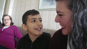 Vlog: Eten bij oma