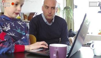 Vlog: Huiswerk maken