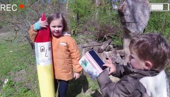 Vlog: In de tuin