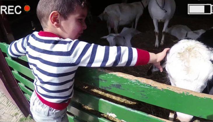 Vlog van Monik: Naar de kinderboerderij