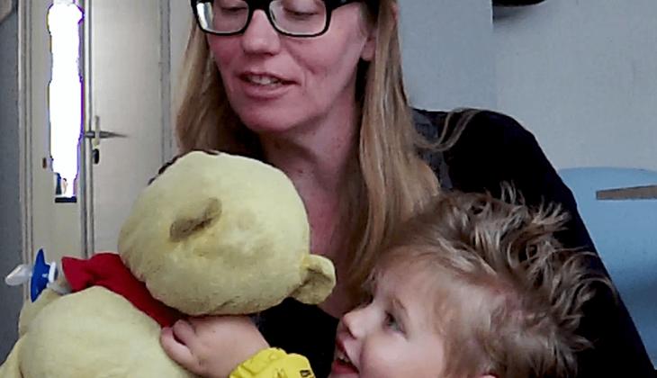 Vlog van Martine: Voor het eerst naar de opvang!