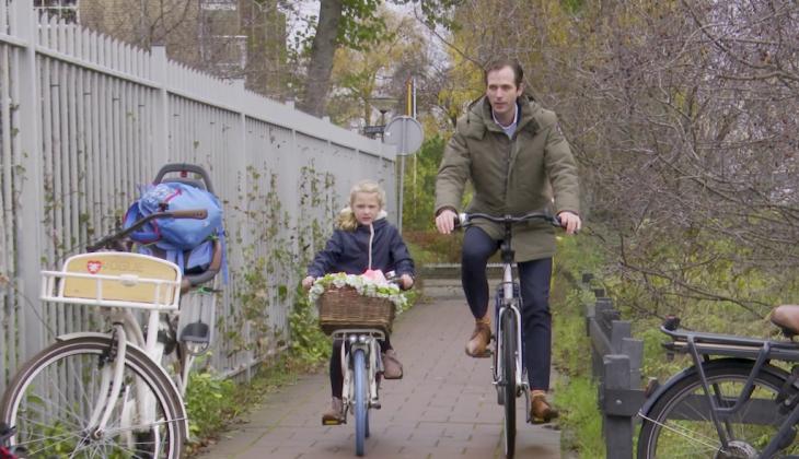 Samen op de fiets met wethouder Bart Bikkers
