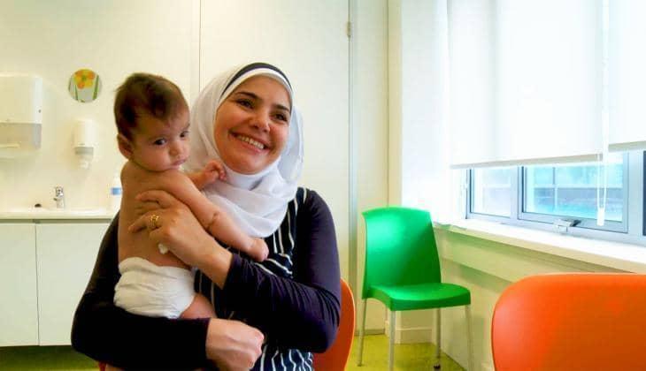 Mijn baby is acht weken oud. Waarom ga ik naar het consultatiebureau?